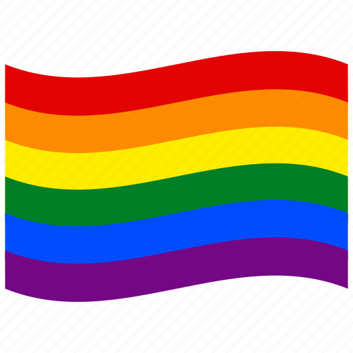 bow, fag, gay flag, homosexual, lesbi, lesbian, lgbt, pride, rainbow, sexual, sodomite icon