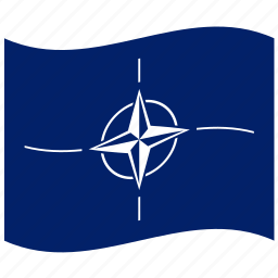 atlantic, military, nato, north, treaty icon