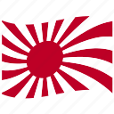 flag, imperial japanese, japan, japanese military flag, old japan flag, rising, sun icon