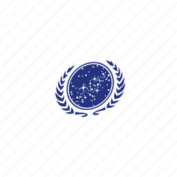 flag, space flag, star trek icon