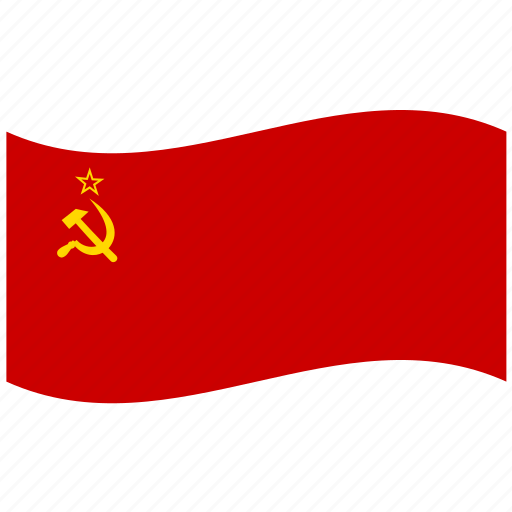 communism, flag, hammer and sickle, socialism, soviet union, su, ussr icon