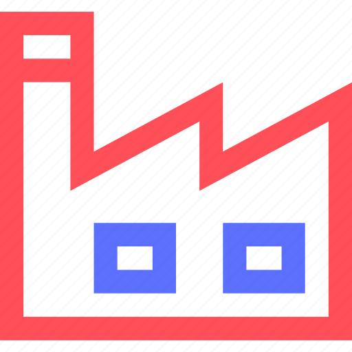 business, commerce, corporation, factory, industry, trade icon
