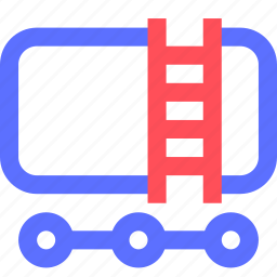 business, commerce, corporation, fuel, industry, trade, truck icon