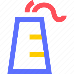 business, commerce, corporation, heavy, industry, trade icon