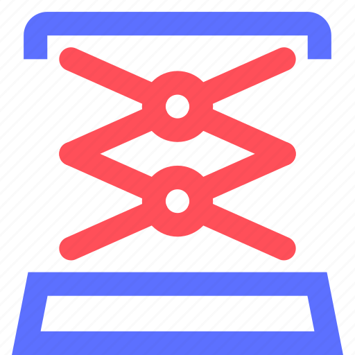 business, commerce, corporation, industry, lifting, machine, trade icon