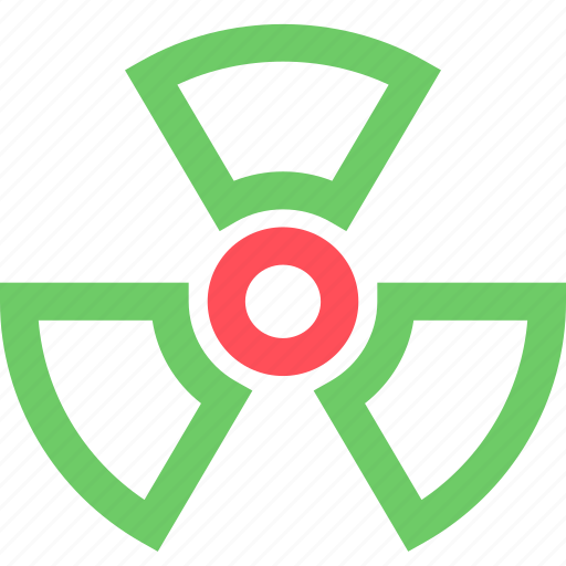 business, caution, commerce, corporation, industry, nuclear, trade icon