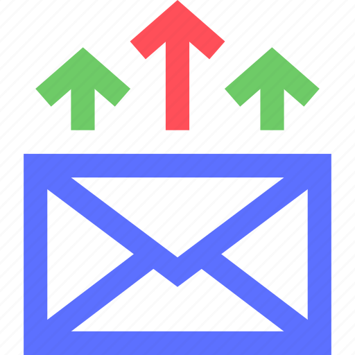 business, commerce, email, marketing, money, promotion, retail icon