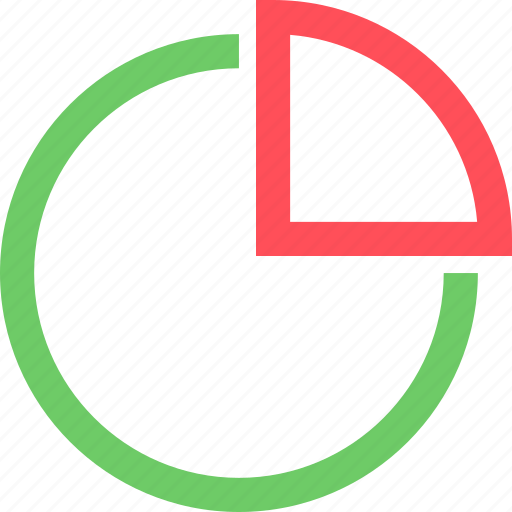 business, chart, commerce, marketing, money, pie, retail icon