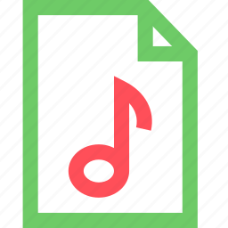 audio, file, melody, music, rock, sing, sound icon