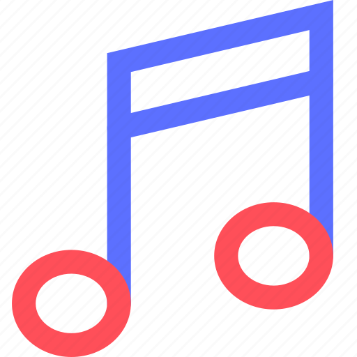 melody, music, note, rock, sing, sound icon
