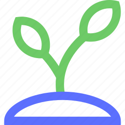 agriculture, earth, farming, garden, nature, new, plant icon