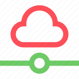 cloud, connection, internet, net, network, system, web icon