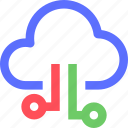 cloud, data, internet, net, network, system, web icon