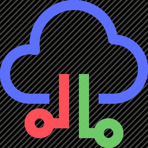 cloud, data, internet, net, network, system, web icon