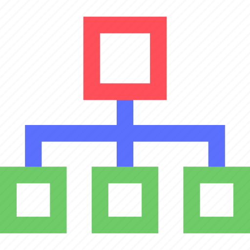 connected, internet, net, network, system, users, web icon