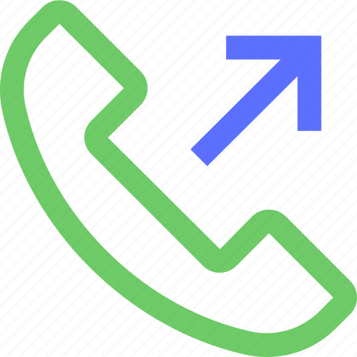 call, contact, dial, outgoing, phone, telephone icon