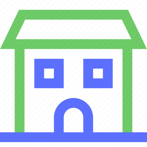 assets, equity, estate, home, house, large, property, wealth icon