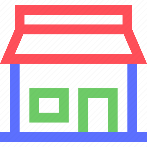 assets, equity, estate, property, shop, store, wealth icon