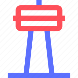 assets, equity, estate, property, signal, tower, tv, wealth icon