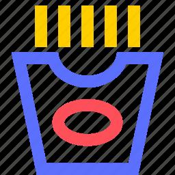bar, diner, french, fries, lounge, restaurant, tavern icon