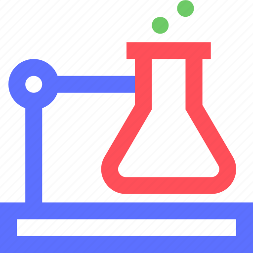 education, experiment, information, learn, liquid, science, train icon