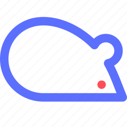 education, experiment, information, learn, mice, science, train icon