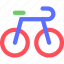 action, athletics, bicycle, bike, exercise, game, sports icon