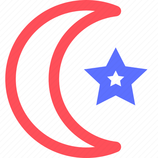 Badge Emblem Islam Logo Religion Symbols Token Icon