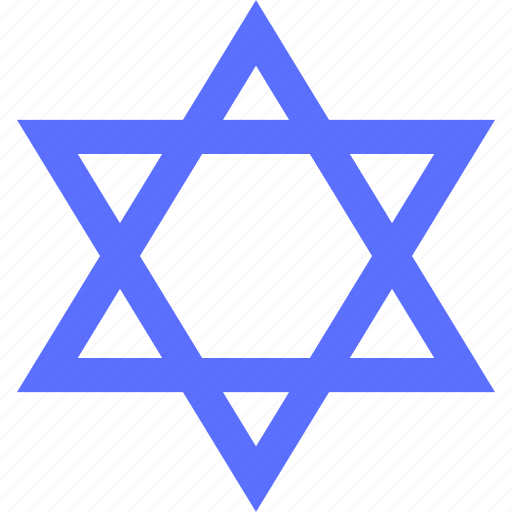 badge, emblem, judaism, logo, religion, symbols, token icon