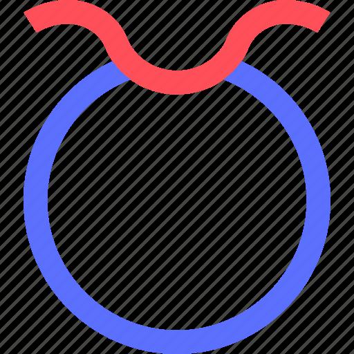 astrology, badge, emblem, logo, symbols, taurus, token icon