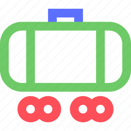 carrier, freight, fuel, shipping, transit, transport, truck icon