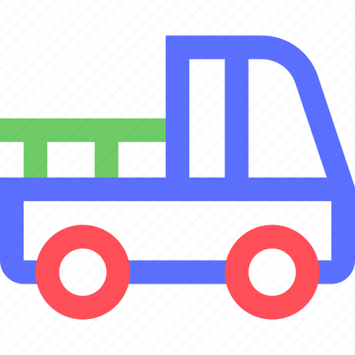 carrier, freight, pickup, shipping, transit, transport icon