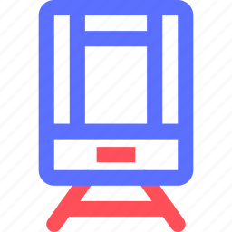 carrier, freight, shipping, tram, transit, transport icon