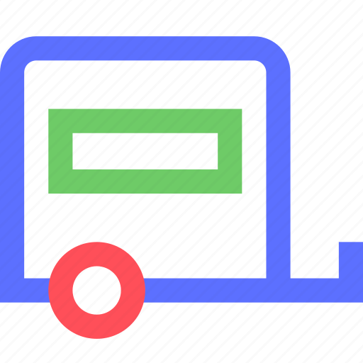 carrier, freight, shipping, transit, transport, trolley icon