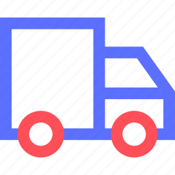 carrier, freight, shipping, transit, transport, truck icon
