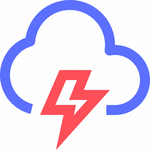 climate, cloud, earth, forecast, lightstorm, nature, weather icon