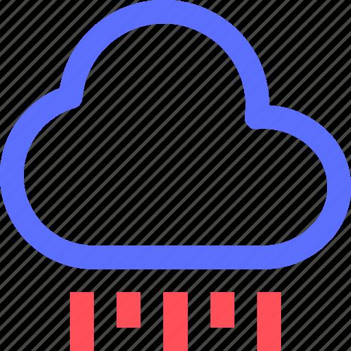 climate, cloud, drops, earth, forecast, nature, rain, weather icon