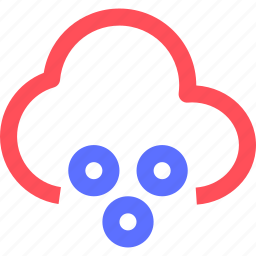 climate, cloud, earth, forecast, nature, snow, weather icon