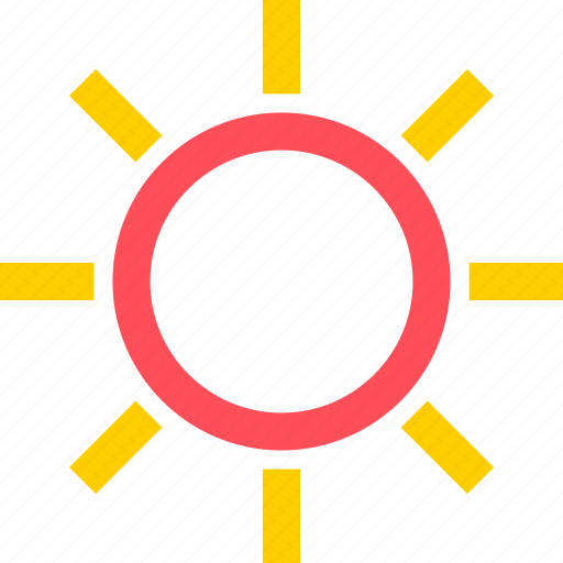 climate, earth, forecast, nature, sun, weather icon
