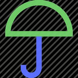 climate, earth, forecast, nature, umbrella, weather icon