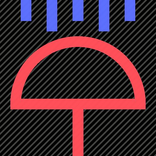 climate, earth, forecast, nature, rain, umbrella, weather icon