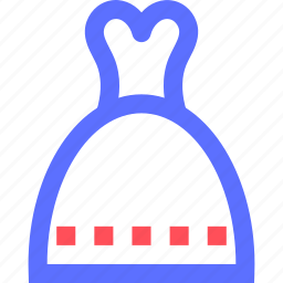 bells, bridal, dress, marriage, union, wedding icon