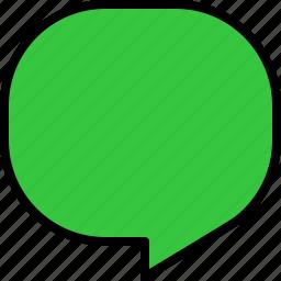 bubble, chat, communication, dialog, message, speech, talk icon