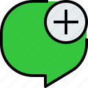 bubble, chat, communication, dialog, message, speech, talk icon