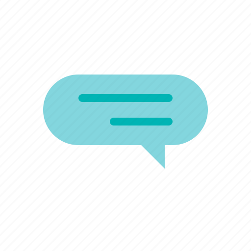 Balloon, bubble, chat, speech, talking, thinking icon - Download on Iconfinder