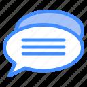 message, comment, dialogue, communication, chat, box