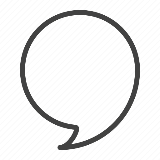 bubble, chat, comment, discussion, speech icon