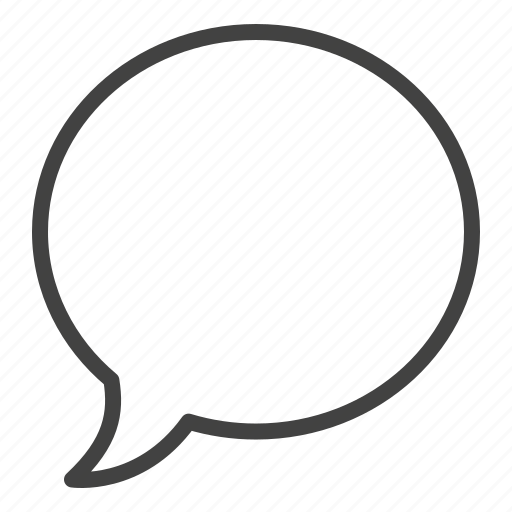 Communication, message, speech, talk, bubble icon