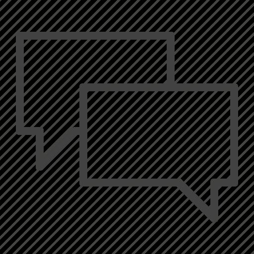 chat, comment, communication, conversation, talk icon