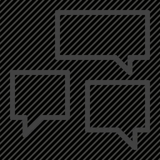 argument, communication, discussion, network, talk icon